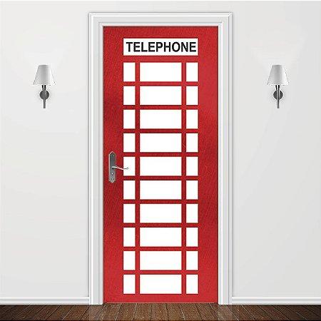 Adesivo para Porta Cabine Telefônica