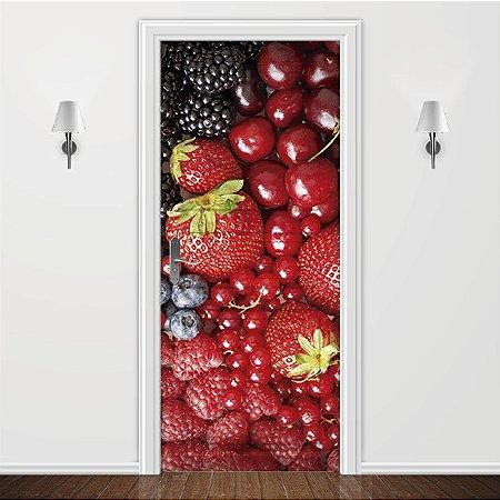 Adesivo para Porta Red fruits