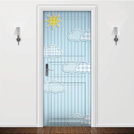 Adesivo para Porta Infantil Céu Azul