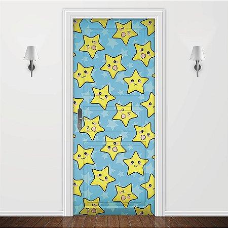Adesivo para Porta Infantil Estrelas