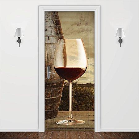 Adesivo para Porta Taça de Vinho