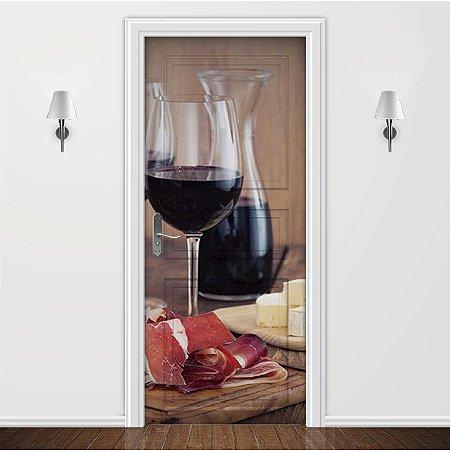 Adesivo para Porta Wine