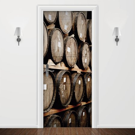Adesivo para Porta Barril de Vinho