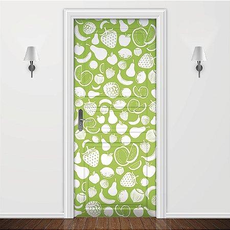 Adesivo para Porta Verde Frutas