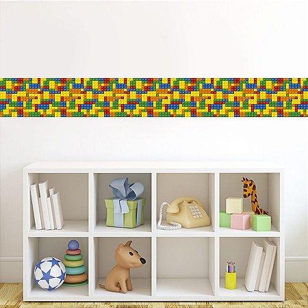 Faixa Border Adesiva Lego