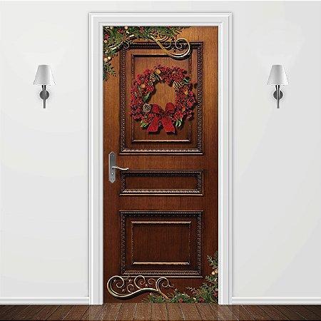 Adesivo para Porta Guirlanda de Natal