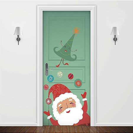 Adesivo para Porta Natal Feliz