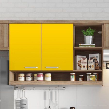 Adesivo Colorido Amarelo Milano