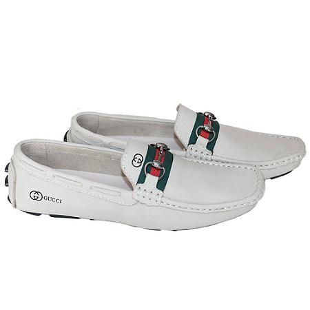 Mocassim Gucci Branco