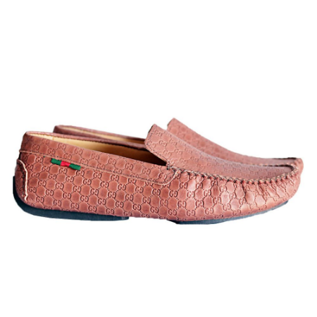 Mocassim Gucci Estampado Whisky