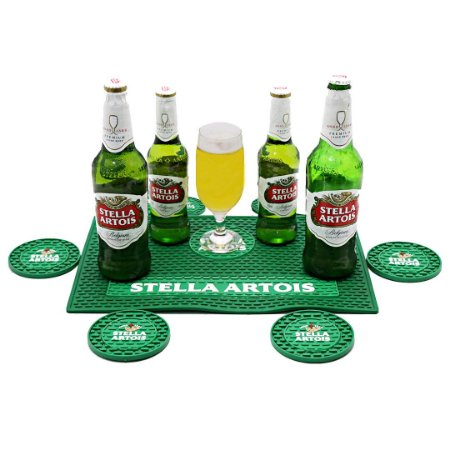 Kit Bar Mat Stella Artois Verde