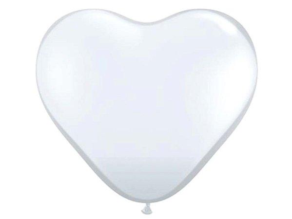 Balão Gigante Transparente - Coração