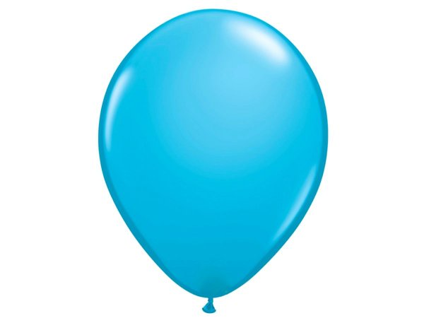 "Balão Látex 16"" - Azul (5 un)"