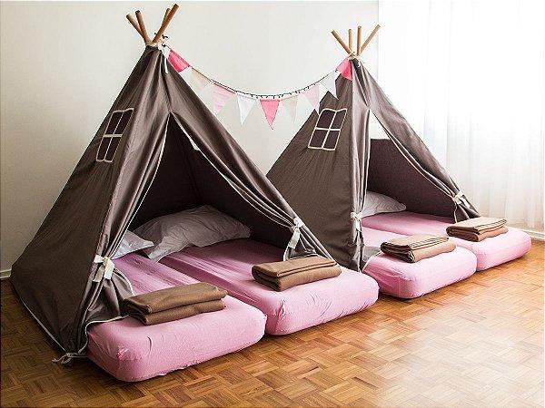 Festa do Pijama – Aluguel de Cabanas (6 crianças)