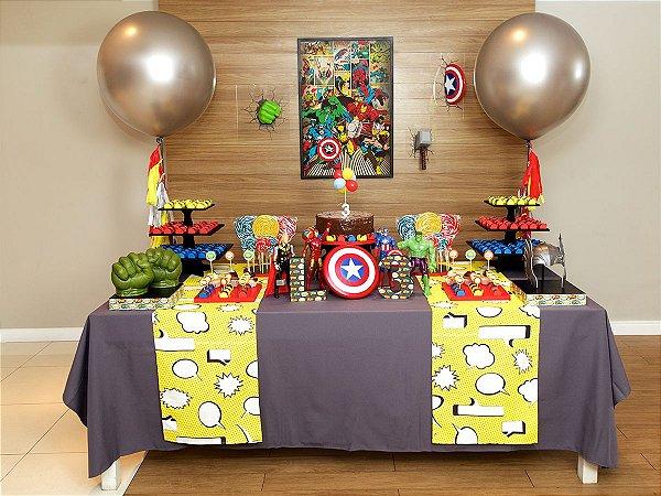 Festa Vingadores - Aluguel de Decoração