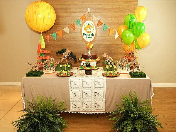 Festa Dinossauro - Aluguel de Decoração