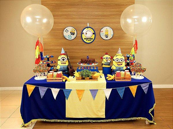 Festa Minions - Aluguel de Decoração