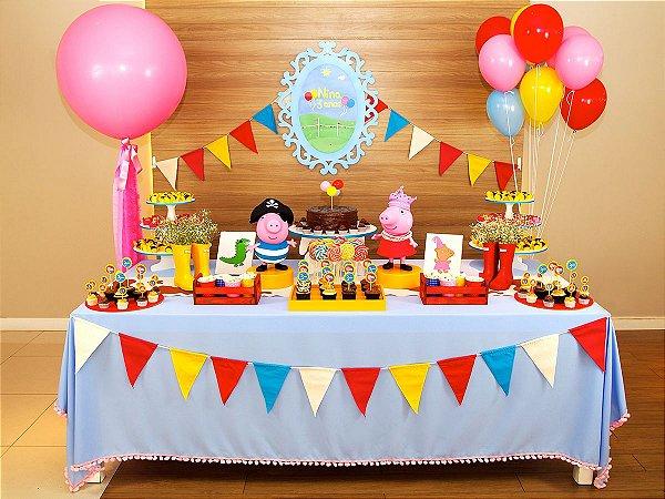 Festa Peppa Pig - Aluguel de Decoração