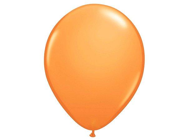 """Balão Látex 16"""" - Laranja (5 un)"""