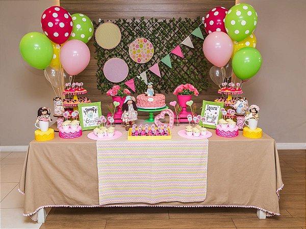 Festa Boneca de Pano - Aluguel de Decoração