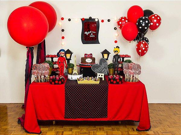 Festa Ladybug - Aluguel de Decoração