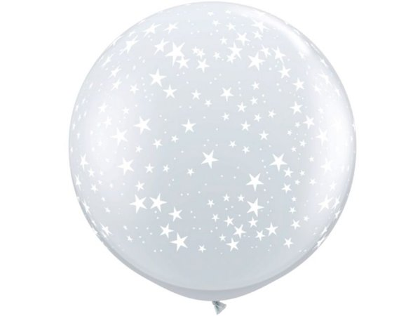 Balão Gigante Transparente de Estrelas