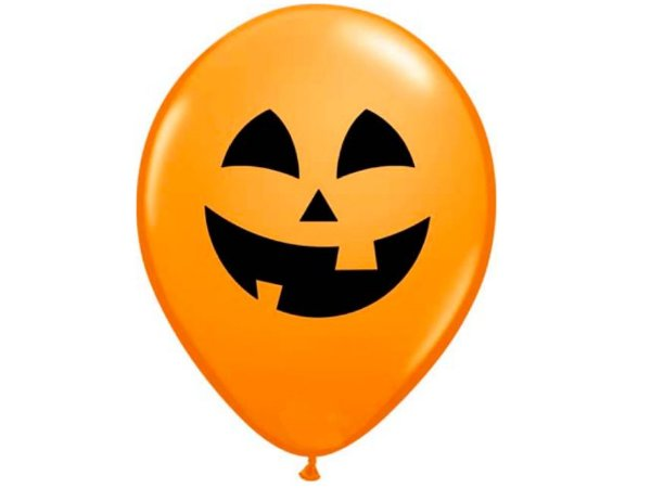 "Balão Halloween Abóbora 5"""