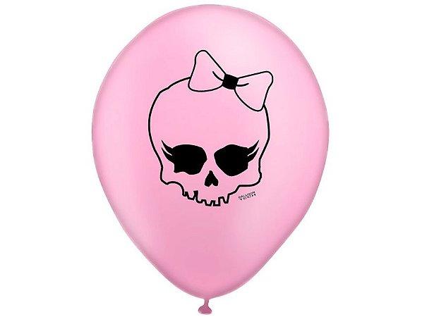 """Balão Caveirinha - 10"""" (28 cm)"""
