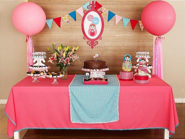 Festa Boneca Russa - Aluguel de Decoração