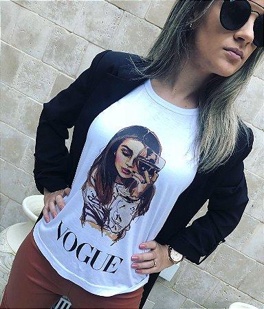 T-Shirt Wine Vogue