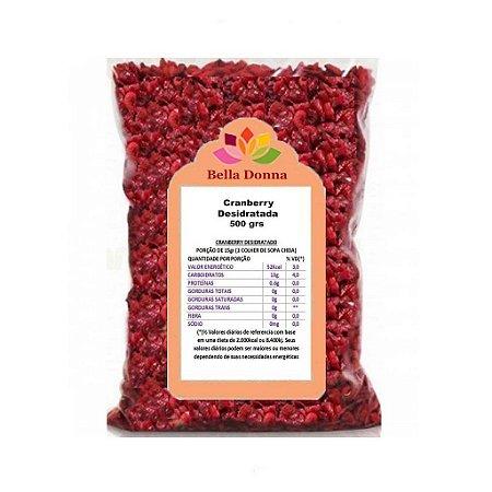 Cranberry Fruta Desidratada 500 grs