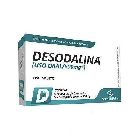 Desodalina 60 Cápsulas 600 mg Sanibras