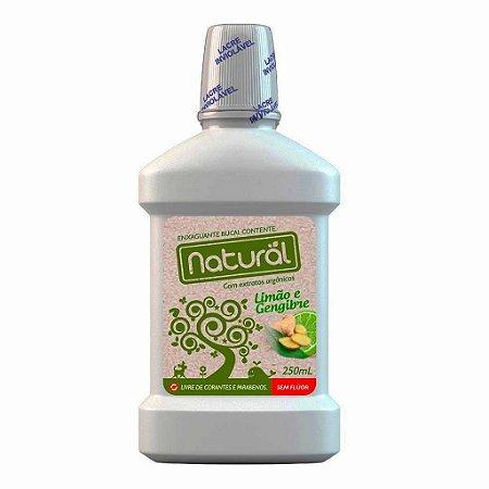 Enxaguante Bucal Natural Com Ingredientes Orgânicos 250ml