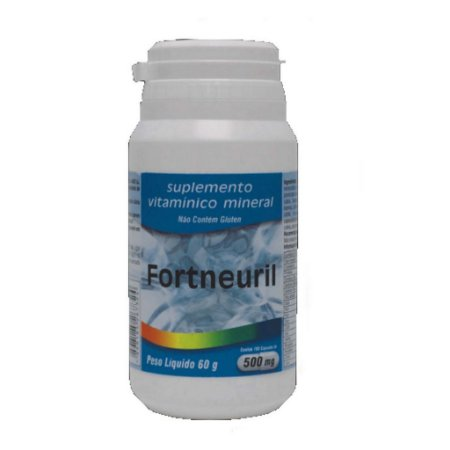 Fortneuril 100 Cap 500 Mg Supl De Vitaminas A Z Medinal