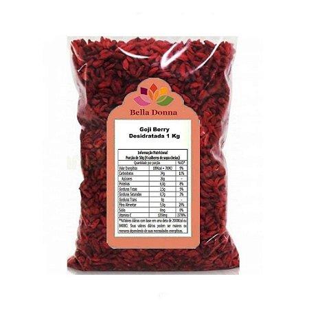 Goji Berry Fruta Desidratada 1 Kg