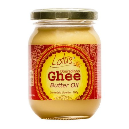 Manteiga Douradinho Ghee S/ Lactose 200 Grs Lotus