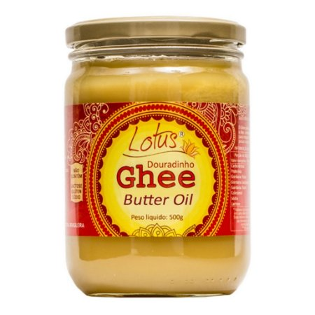 Manteiga Douradinho Ghee S/ Lactose 500 Grs Lotus