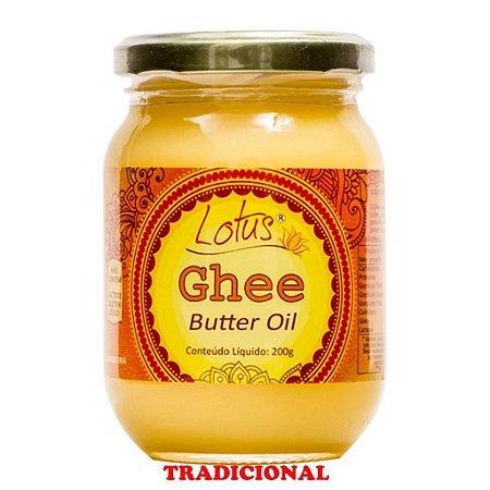 Manteiga Ghee S/ Glúten S/ Lactose S/ Sal 200 Grs Lotus