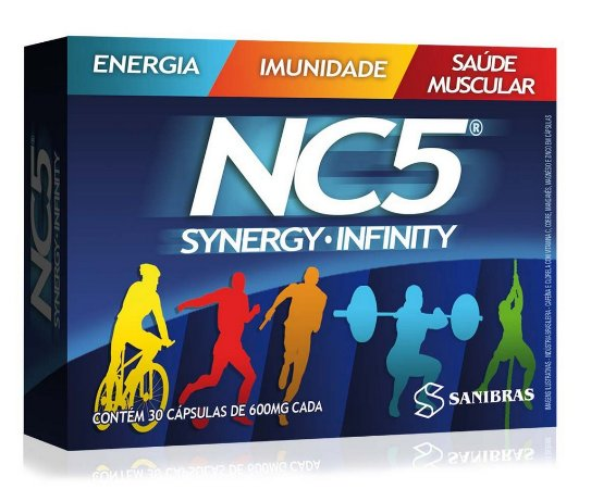 NC5 - Synergy Infinity 30 Cáps - Sanibras