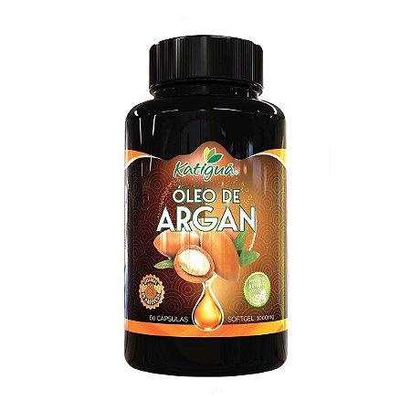 Óleo de Argan 1000 mg com 60 Cáps (Slim Fit) Katiguá
