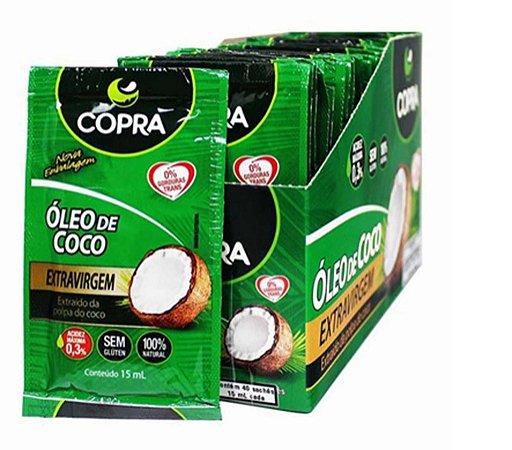 Oleo De Coco Extra Virgem Sachet 15 ml Copra