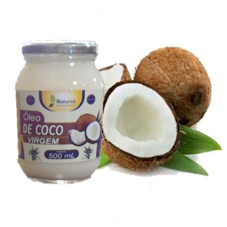 Óleo de Coco Virgem 500 ml Natured