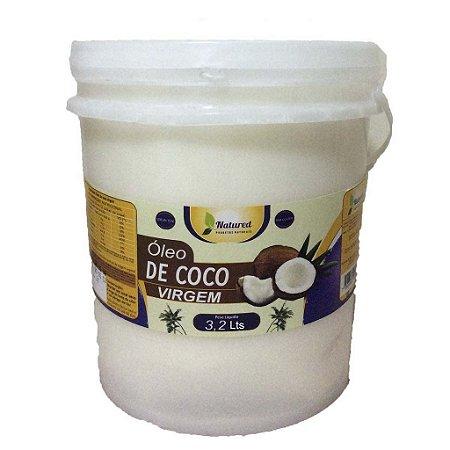 Óleo de Coco Virgem Balde 3,2 lts Natured