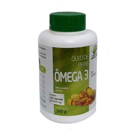 Óleo de Peixe Omega 3 (1G) 120 Cápsulas Medinal