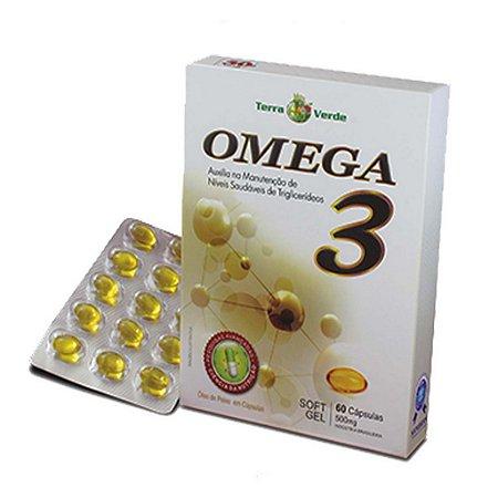 Ômega 3 - 60 Softgels 500 Mg - Terra Verde
