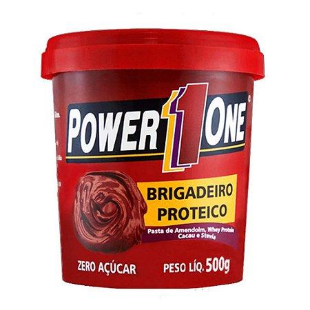 Pasta de Amendoim Brigadeiro Proteico 500 grs - Zero Açucar