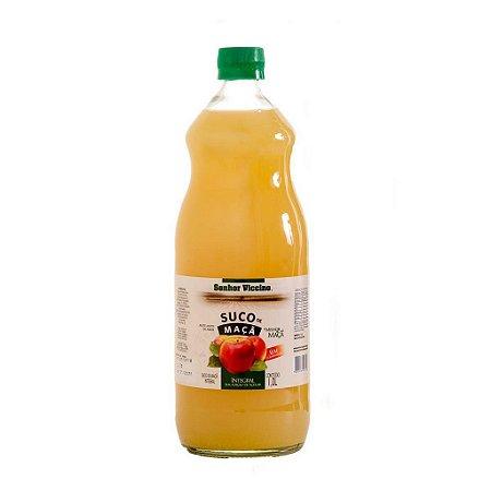 Suco De Maçã Integral 1 Litro Zero Açúcar - Senhor Viccino
