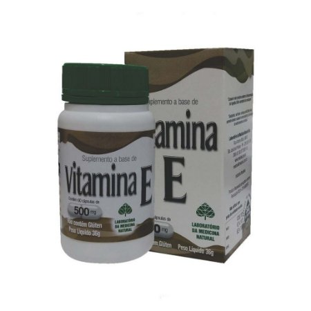 Vitamina E 50 Cápsulas 500 mg