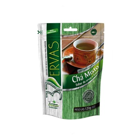 Chá Misto 37 Ervas Plus 120 grs Stand Up Pouch
