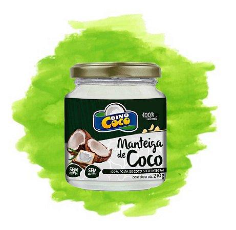 Manteiga De Coco 210 grs  Dinococo